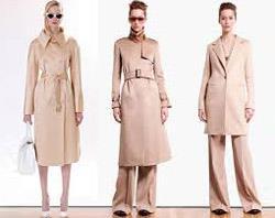 С чем носить бежевое пальто?