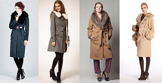 Пальто для фигуры типа