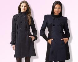 Пальто по фигуре должна уметь выбирать каждая женщина (фото)