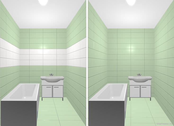 Плитку каких цветов выбирать для маленькой ванной комнаты? Варианты интерьеров
