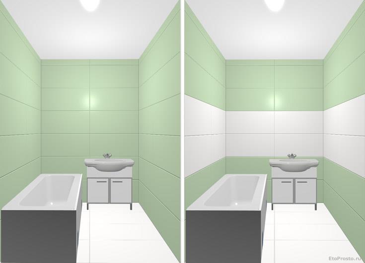 Ремонт в маленькой ванной комнате. Дизайн своими руками. как увеличить пространство