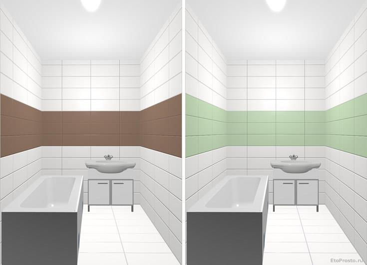 Ремонт маленькой ванной комнаты. Какую плитку выбрать