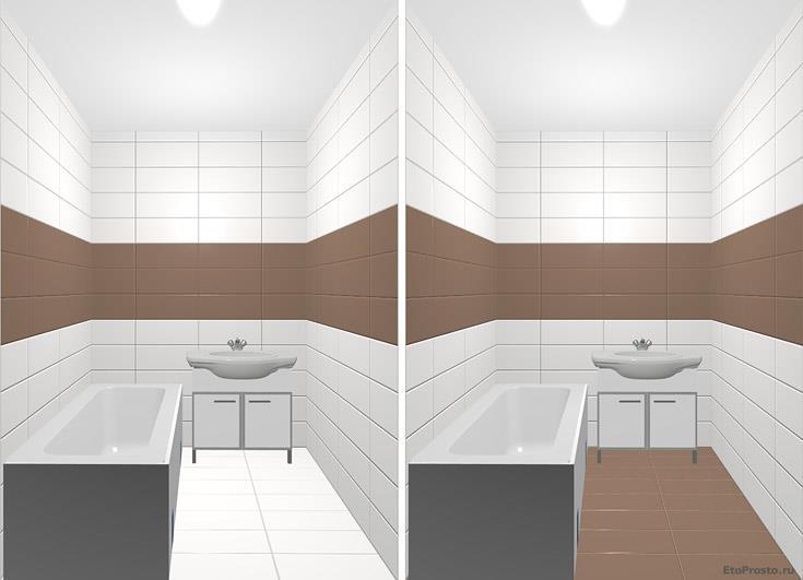 Ремонт ванной комнаты. дизайнерские приемы для увеличения пространства. интерьеры с плиткой