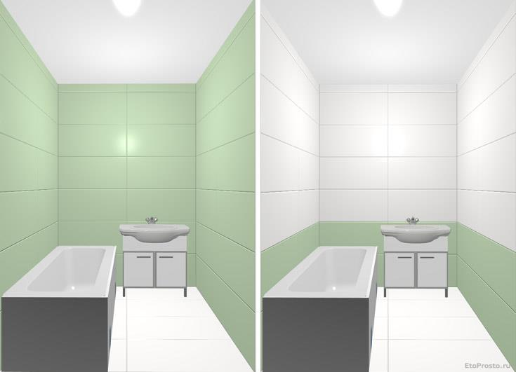 Делаем ремонт в ванной. Как выбрать плитку, какой цвет лучше