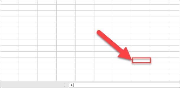Microsoft Excel. Прокрутите лист до тех пор, пока не найдете последнюю ячейку в требуемом диапазоне