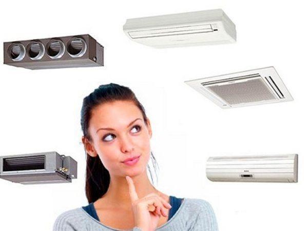 На кухню можно подобрать разные типы приборов климатконтроля.