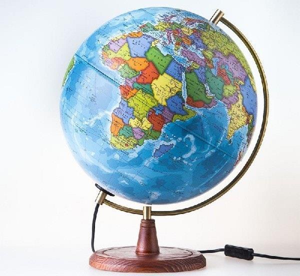 Глобус с подсветкой для ученика