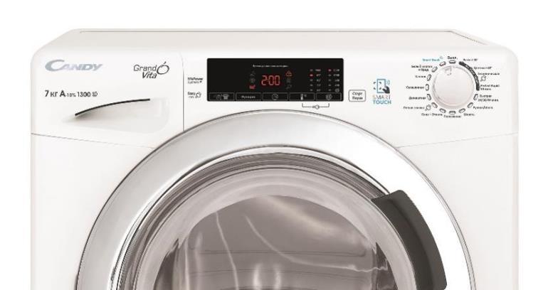 полноразмерный корпус стиральной машины позволяет больше загрузить белья