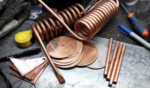 Инструменты для изготовления змеевика.