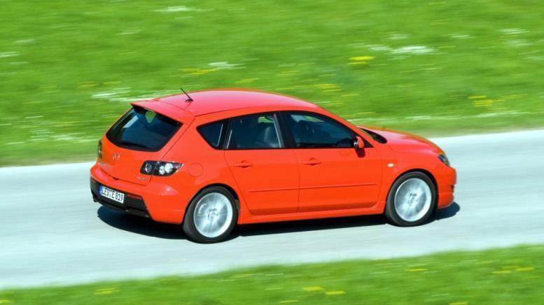 На фото: Mazda3 MPS (BK) '2006–09