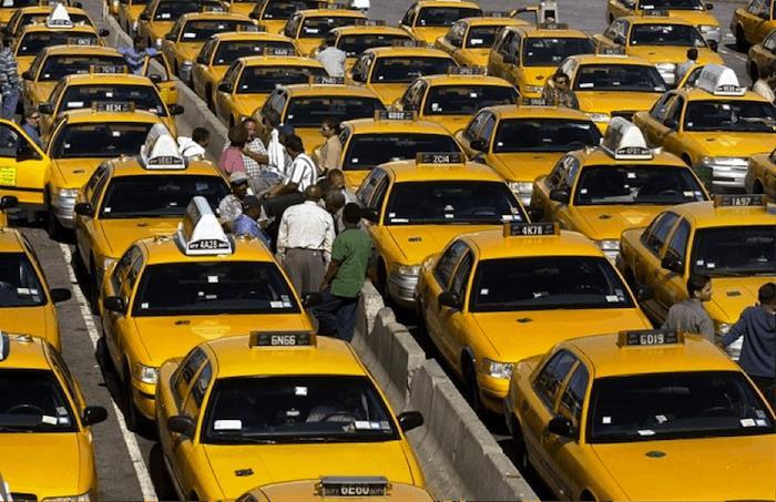 много машын такси