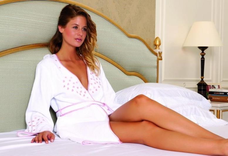 как определить размер халата для женщин