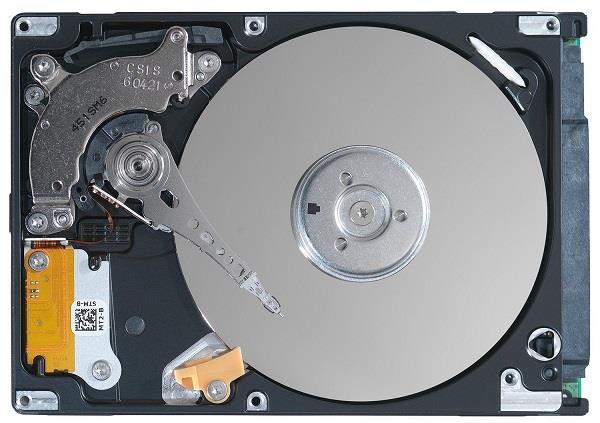 Жёсткий диск – вид изнутри
