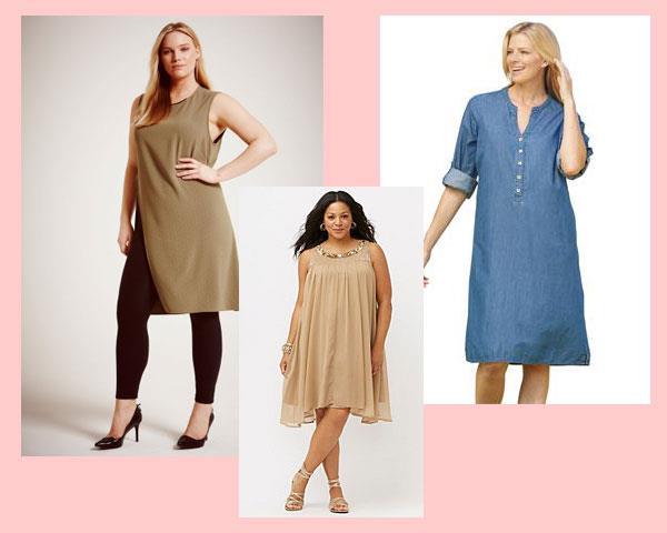 Какую одежду лучше выбирать полным