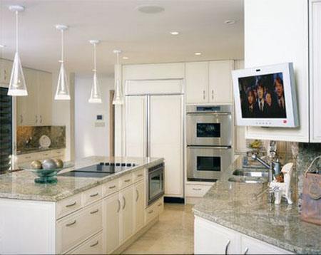 Телевизор на кухне – удобно и практично