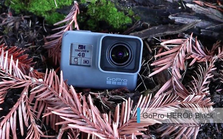 Лучшие экшн-камеры 2017-2018. третье место: GoPro HERO6 Black