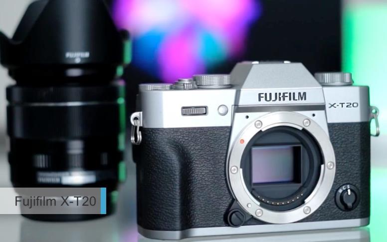 Лучшие камеры2017-2018начального уровня. второе место: Fujifilm X-T20