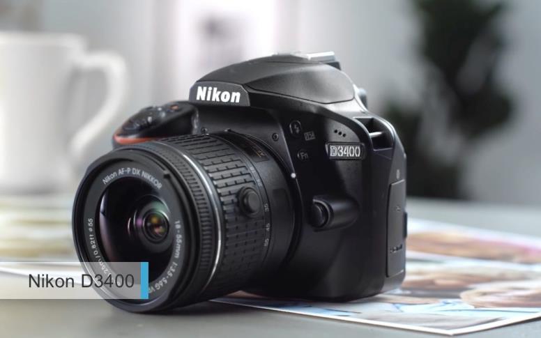 Лучшая камера2017-2018дешевле 30 тыс руб - Nikon D3400