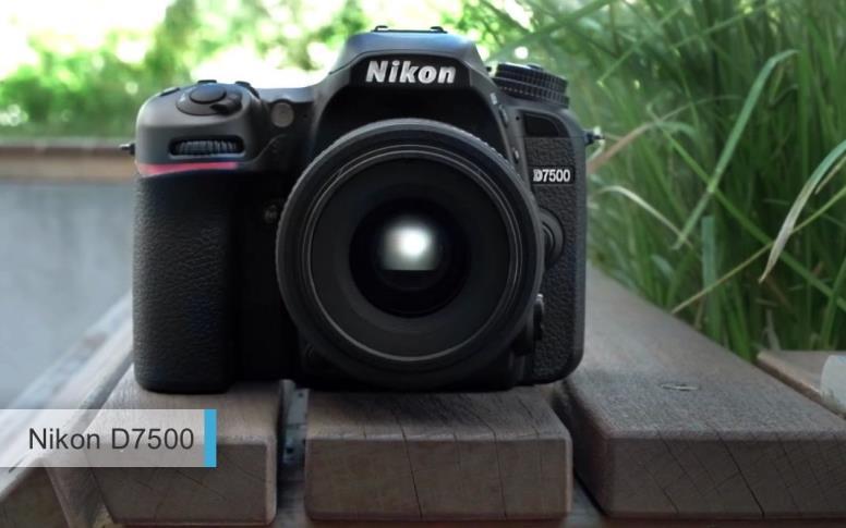 Лучший фотоаппарат2017-2018APS-C среднего уровня - Nikon D7500
