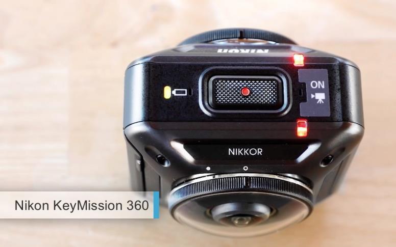 Лучшая 360-градусная камера 2017-2018 - Nikon KeyMission 360