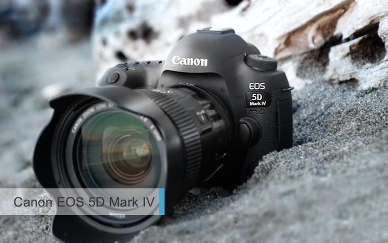 Лучшие полнокадровые фотоаппараты2017-2018для профи. третье место: Canon EOS 5D Mark IV