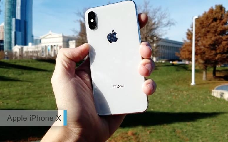 Лучший смартфон для фотографии2017-2018 - Apple iPhone X