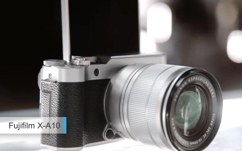Лучшие фотоаппараты2017-2018дешевле 30 тыс руб. второе место: Fujifilm X-A10