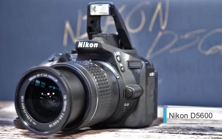 Лучший фотоаппарат2017-2018начального уровня - Nikon D5600