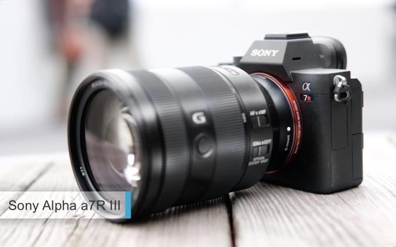 Лучшие полнокадровые фотоаппараты2017-2018для профи - второе место:Sony Alpha a7R III