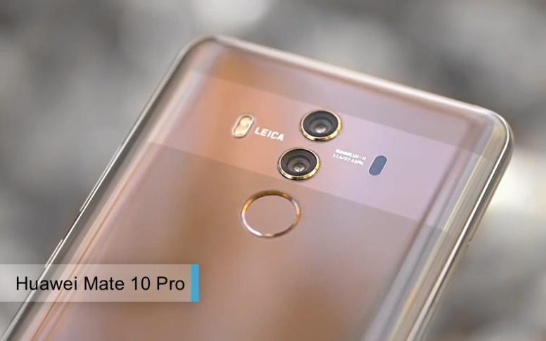 Лучшие камерофоны2017-2018. третье место: Huawei Mate 10 Pro