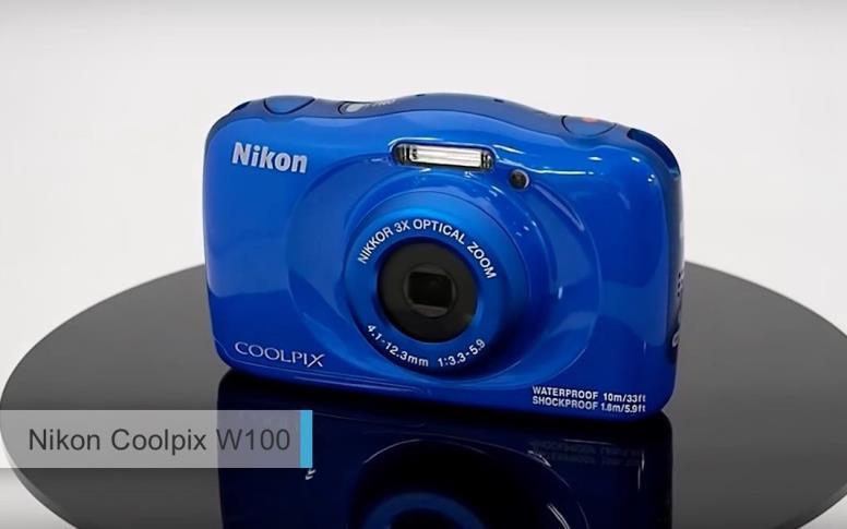 Лучшие водонепроницаемые фотоаппараты 2017-2018. второе место: Nikon Coolpix W100