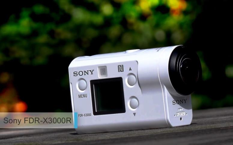 Лучшие экшн-камеры 2017-2018. второе место: Sony FDR-X3000R