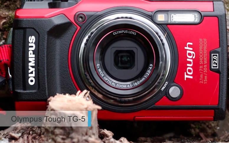 Лучший водонепроницаемый фотоаппарат 2017-2018 - Olympus Tough TG-5