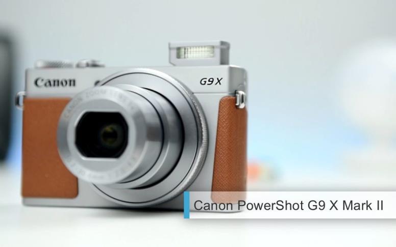 Лучшие компактные камеры 2017-2018 среднего уровня. второе место: Canon PowerShot G9 X Mark II