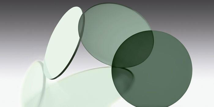 Органические линзы из стекла