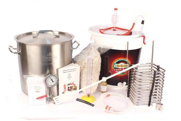 """Домашняя мини пивоварня """"МирБир"""" для чистозернового пивоварения."""