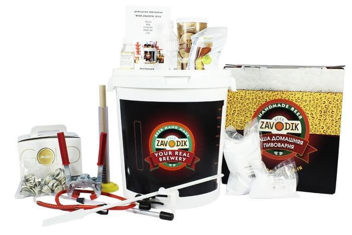 Экстрактная пивоварня Beer Zavodik в максимальной комплектации.