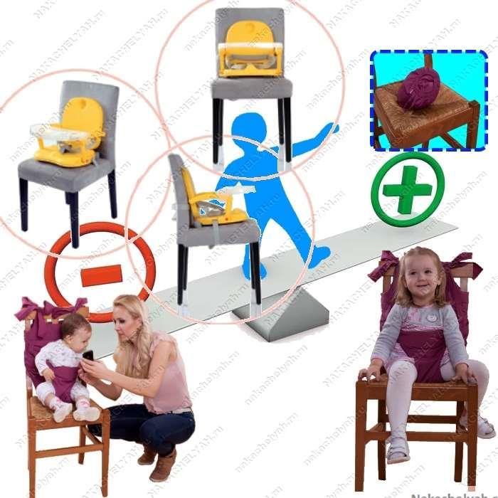 Какой стульчик для кормления лучше выбрать бустер или мобильный