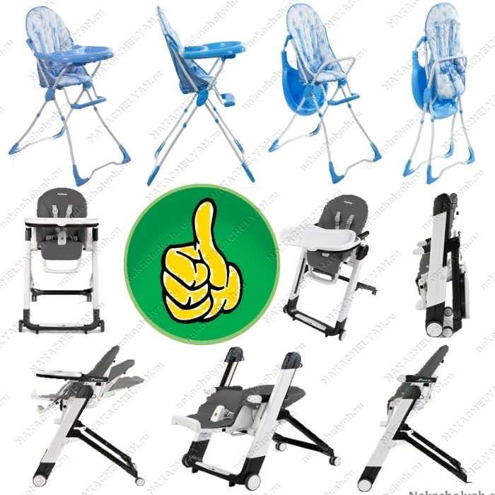 Как выбрать стульчик для кормления складной