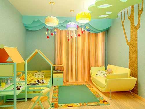 Светильники в детской