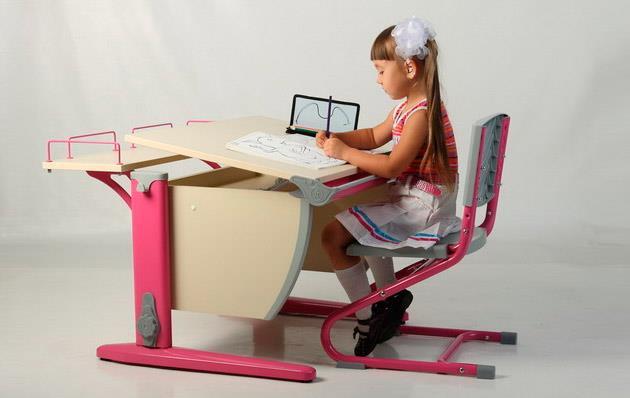 как выбрать письменный стол для ребенка?