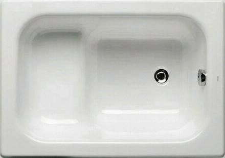 Сидячая чугунная ванна (фото)