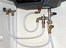 Подключение накопительного водонагревателя к водопроводу