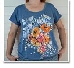 Как сшить женскую футболку из трикотажа