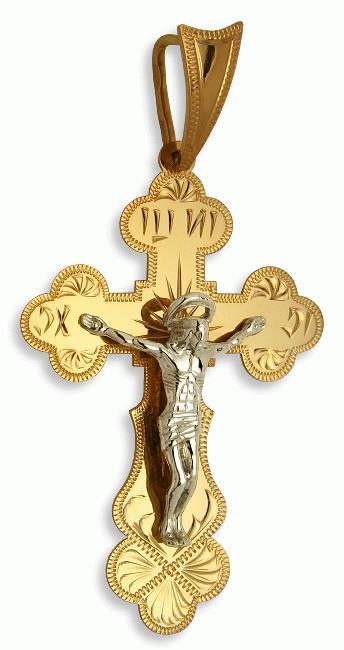 Купить Золотые крестики