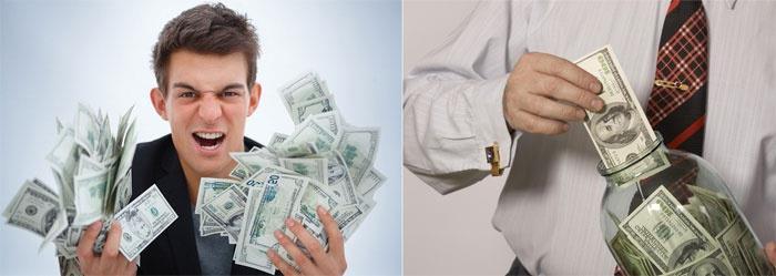 Отношение будущего мужа к деньгам