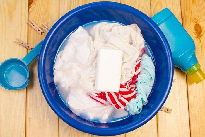мыло для ручной стирки детской одежды