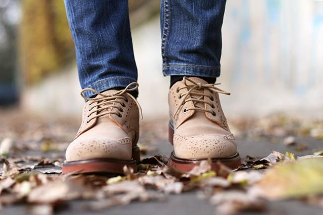 выбор качественной мужской обуви