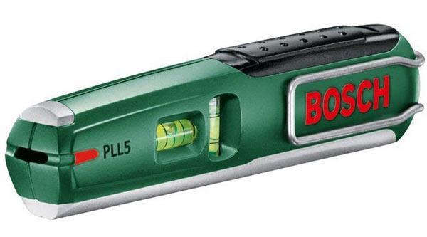 Лазерный уровень Bosch PPL5 имеет компактные размеры
