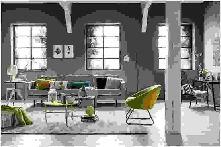 Инсталляции в мебельных шоу-румах помогут с выбором стиля